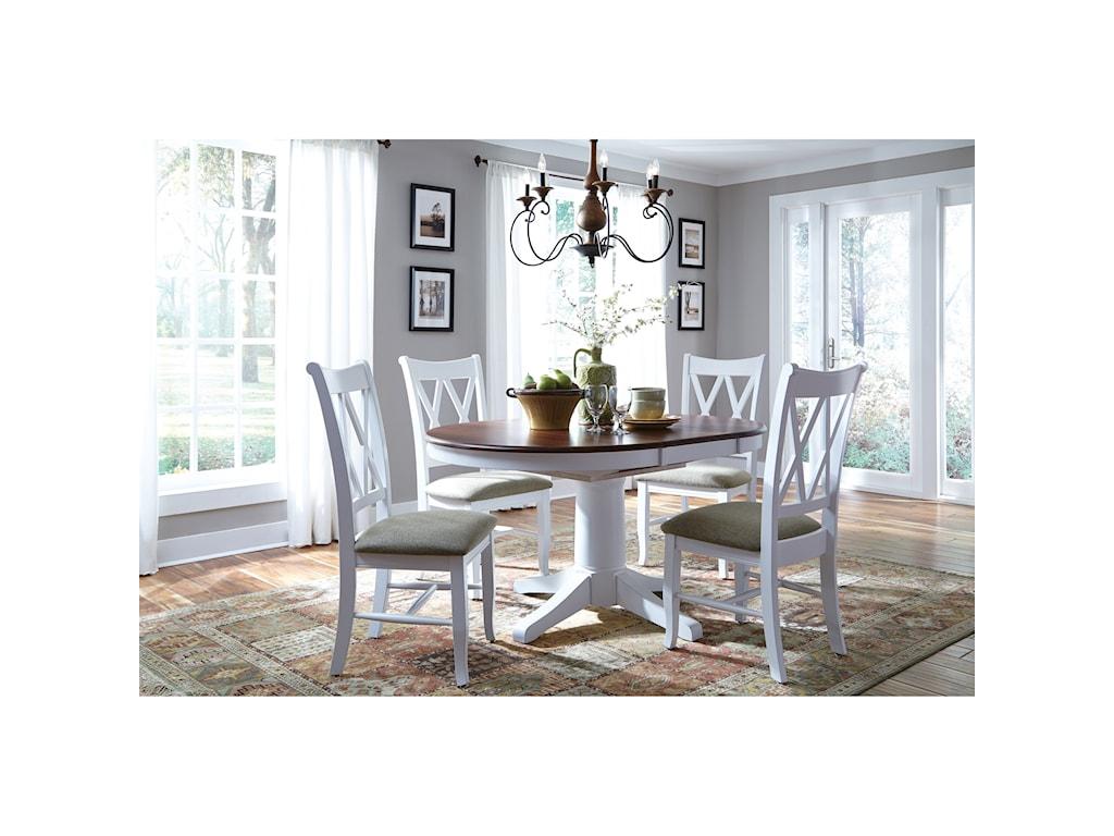 John Thomas SELECT DiningRound Pedestal Dining Table