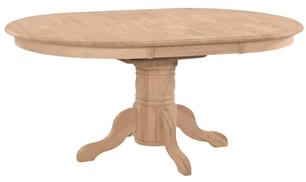 Merveilleux John Thomas SELECT DiningButterfly Leaf Oval Pedestal Dining Table ...