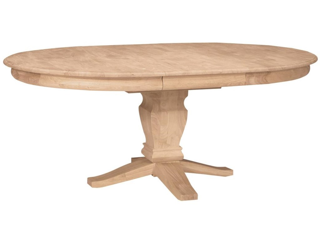 John Thomas SELECT DiningButterfly Leaf Oval Pedestal Table