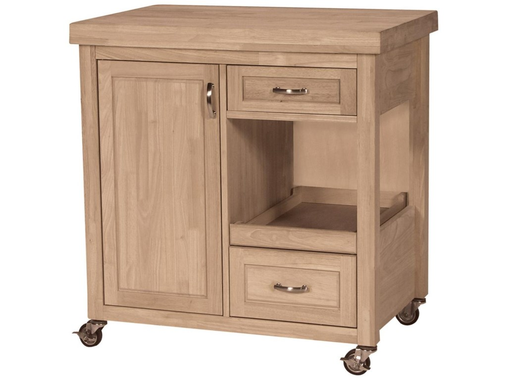 John Thomas SELECT Dining2-Drawer 1-Door Kitchen Work Center