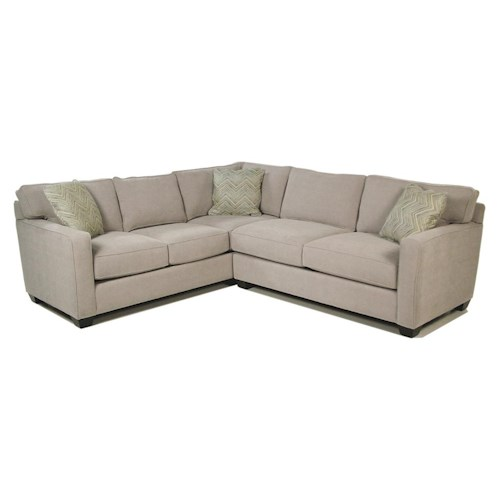 Jonathan Louis Heavenly  2-Piece Stationary Sectional