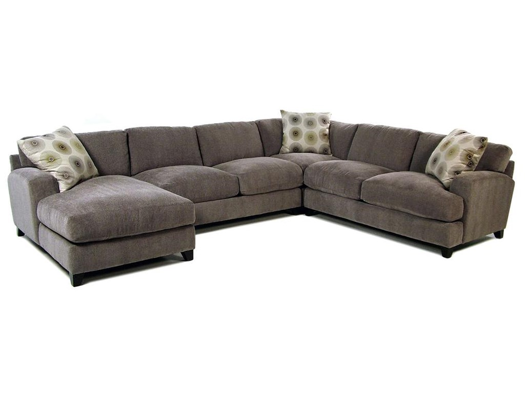 Jonathan Louis Gullivercasual Contemporary Chaise Sectional