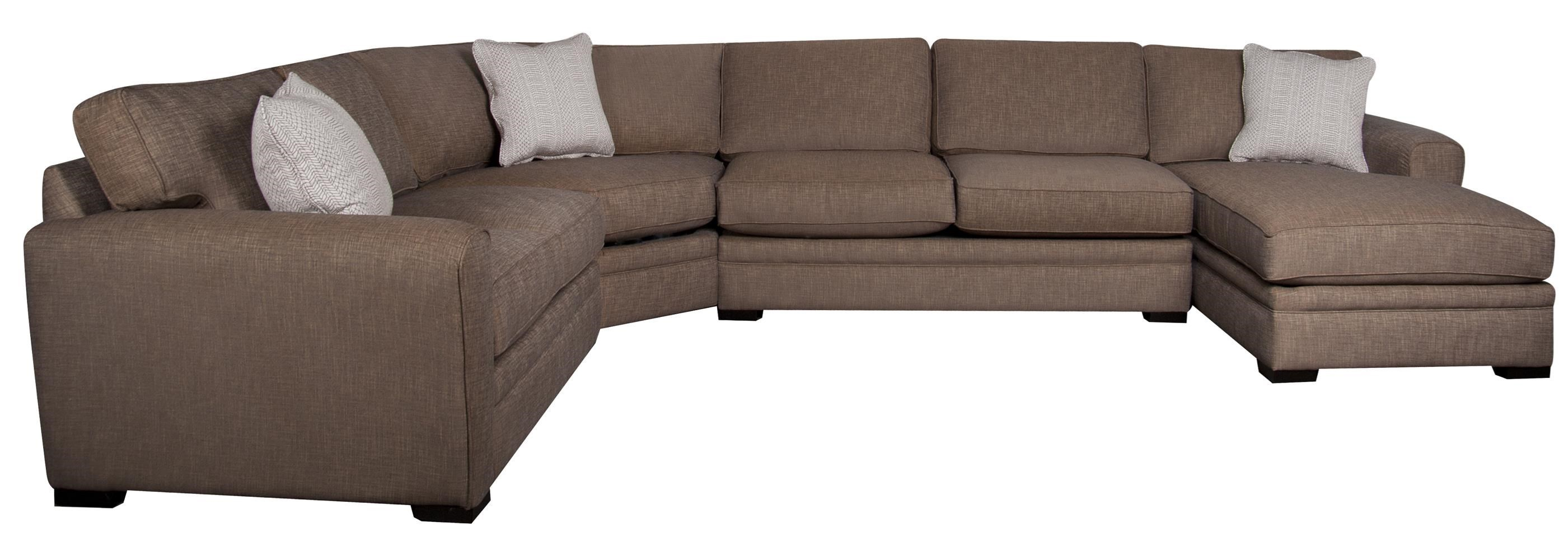 4 Piece Sectional Sofa Cheap Radley 4 Piece Sectional Sofa From