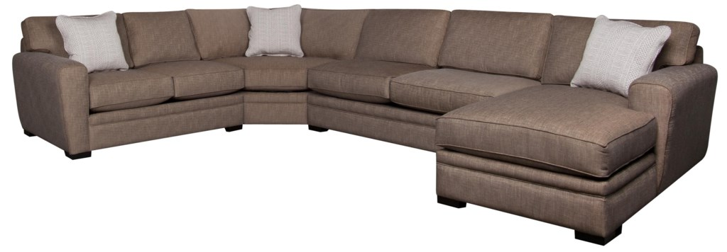 Santa Monica Lexie 4 Piece Sectional Morris Home Sectional Sofas