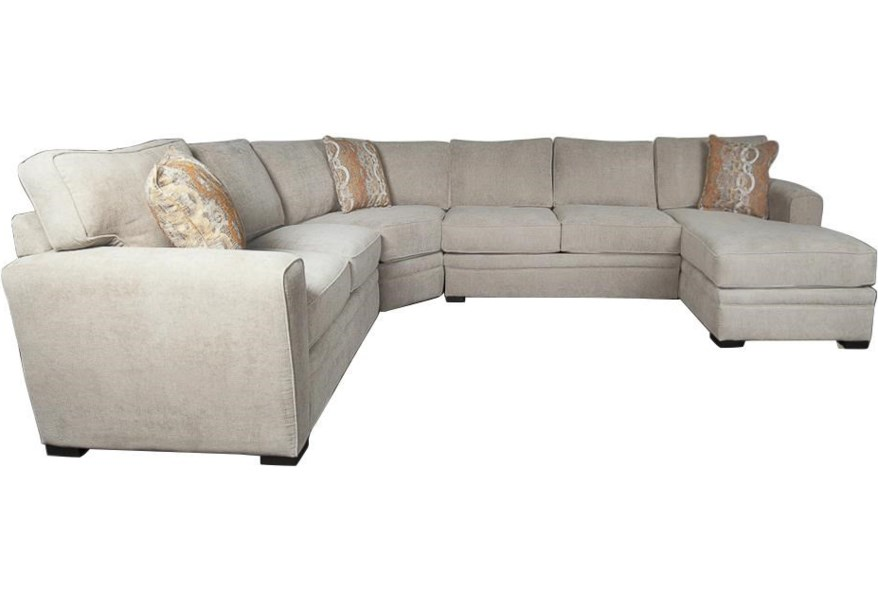 Lexie Casual Sectional Sofa