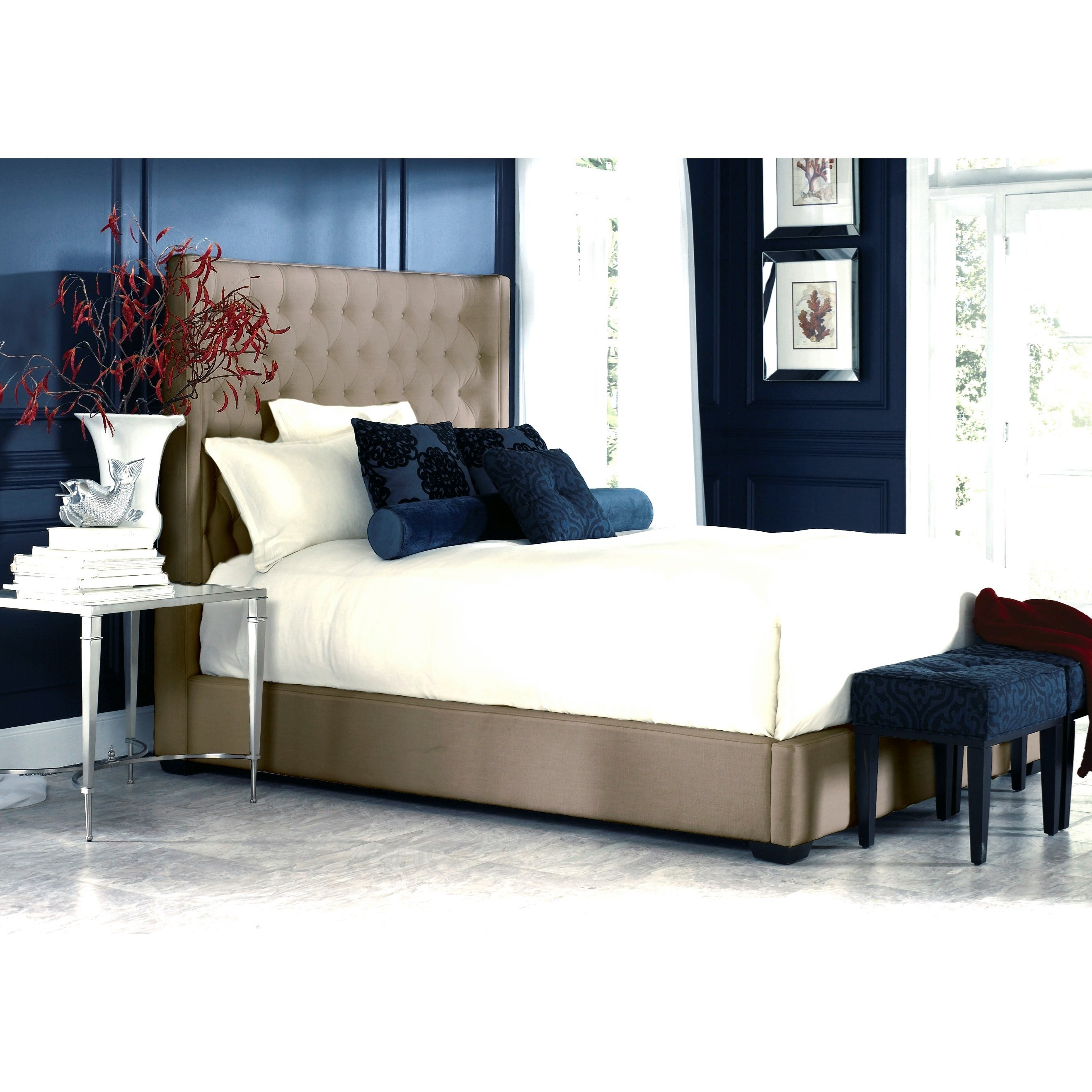 jonathan louis carly queen storage bed homeworld furniture upholstered beds