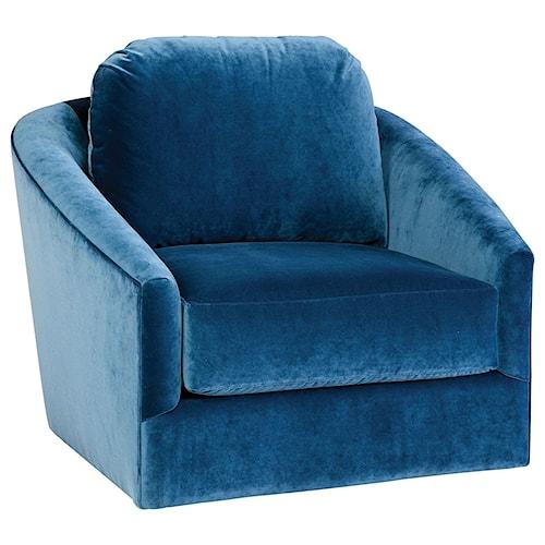 Jonathan Louis Accentuates Madeline Swivel Chair