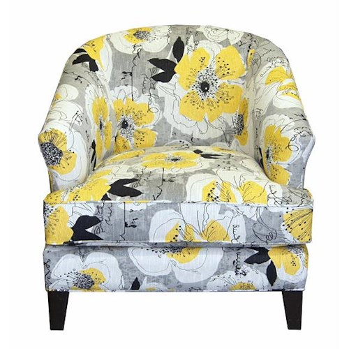 Jonathan Louis Accentuates Glendora Chair