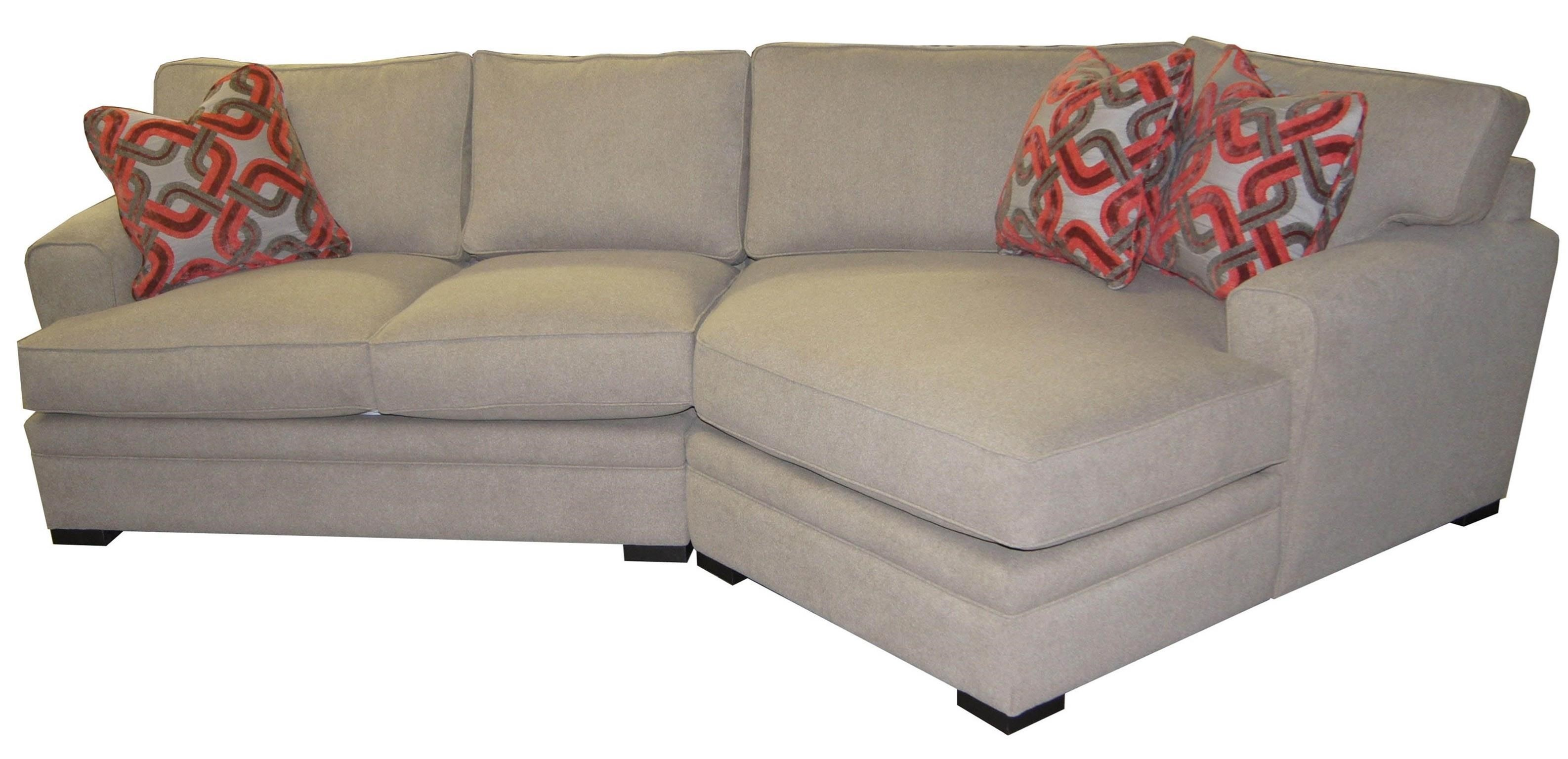 ... Jonathan Louis Aries Casual Sectional Sofa With Rolled Arms John ...