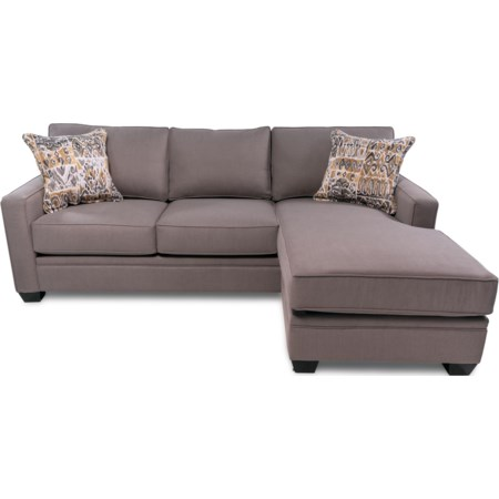 Contemporary Chaise Sectional