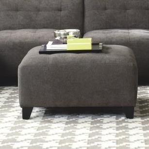 Contemporary Ottoman with Tufting