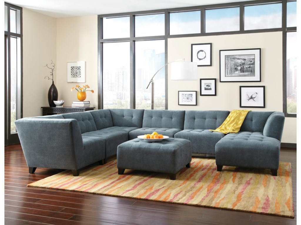 Jonathan Louis BelaireContempary Sectional