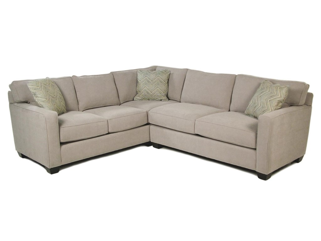 Heavenly 2 Piece Stationary Sectional