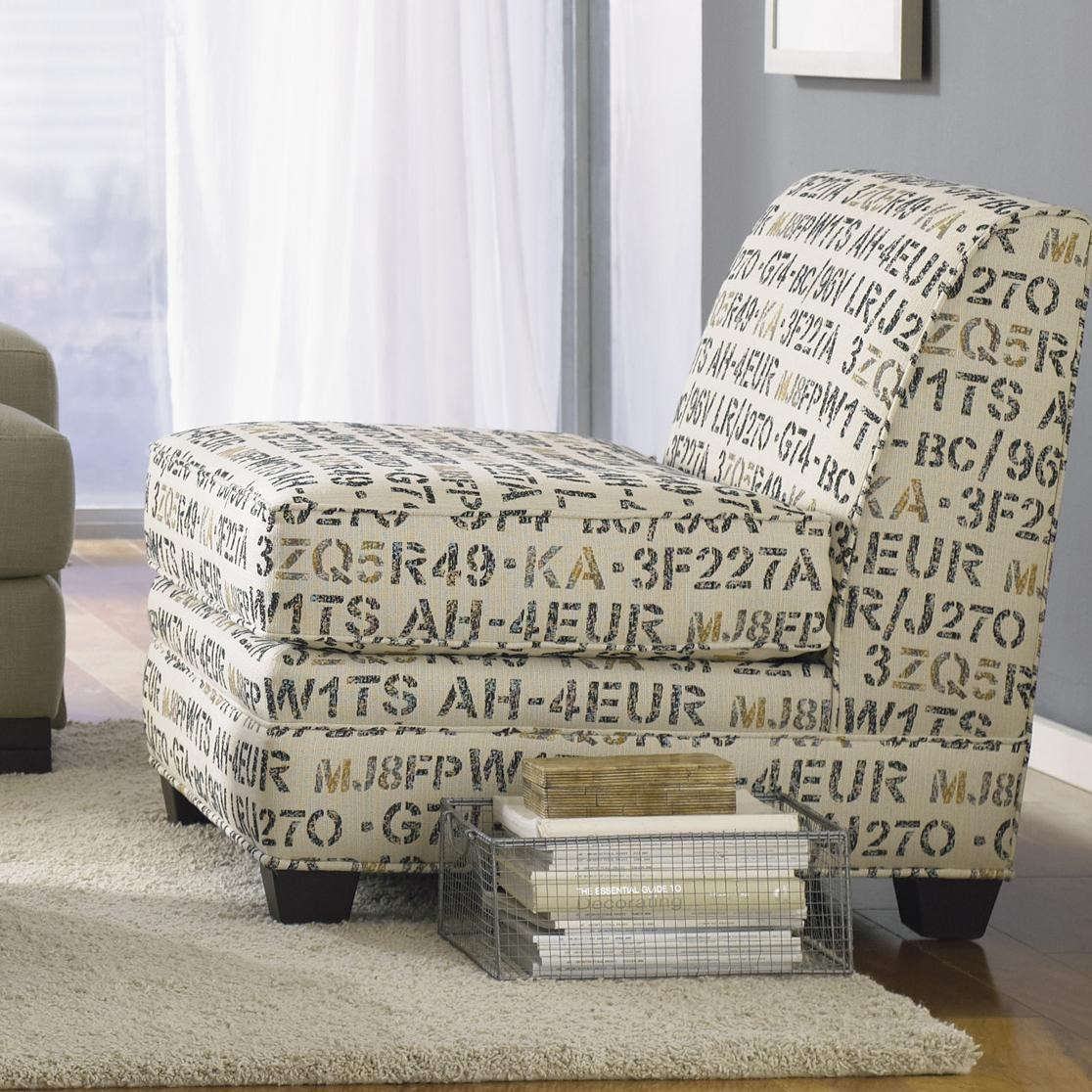 Jonathan Louis Burton Armless Chair ...