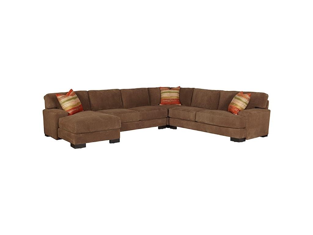 Jonathan Louis Burton Sectional Sofa