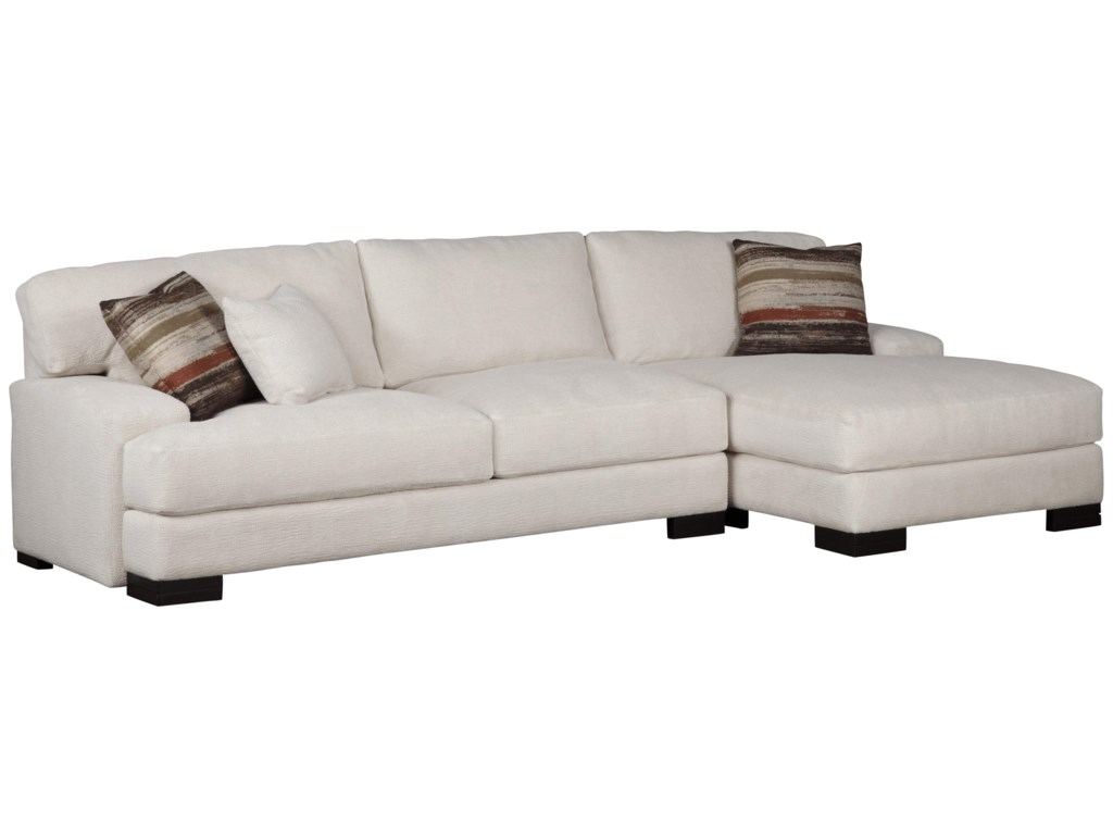 Jonathan Louis Burton Modern Sectional with Right Chaise | Olinde\'s ...