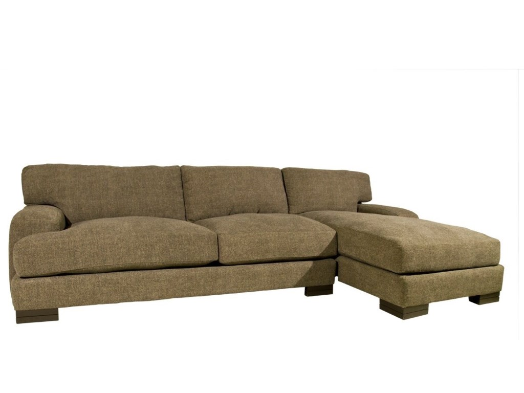 Jonathan Louis Burton Sectional with Chaise