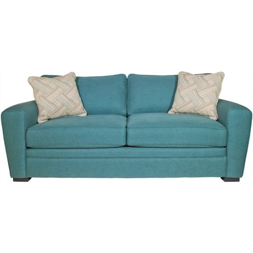 Jonathan Louis Choices - Artemis Contemporary Full Sofa Sleeper with Dome Arms