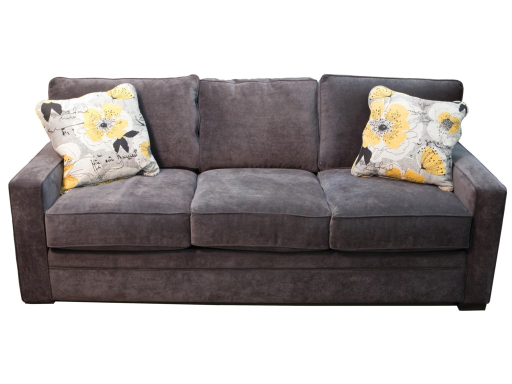 Jonathan Louis Choices Juno 412f 30 Contemporary Sofa With Feather