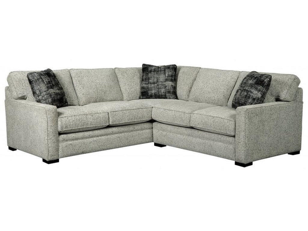 Choices - Juno Contemporary L-Shaped Sectional Sofa with Track Arms by  Jonathan Louis at John V Schultz Furniture