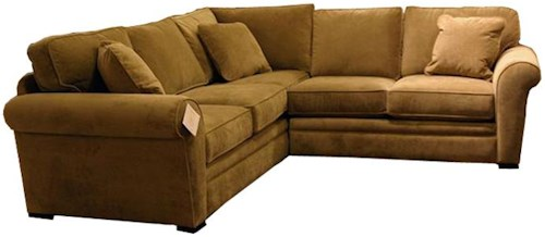 Jonathan Louis Choices - Orion 2 Piece Sectional Sofa with Rolled Arms