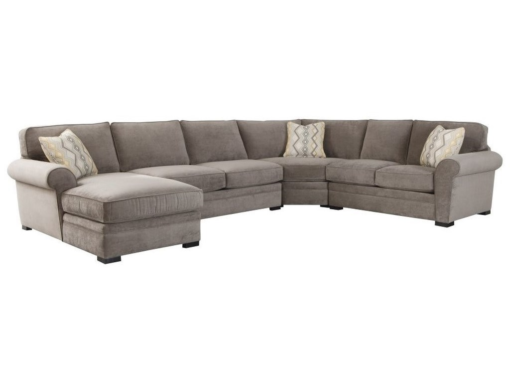 Choices - Orion Casual 4-Piece U-Shaped Chaise Sectional by Jonathan Louis  at John V Schultz Furniture