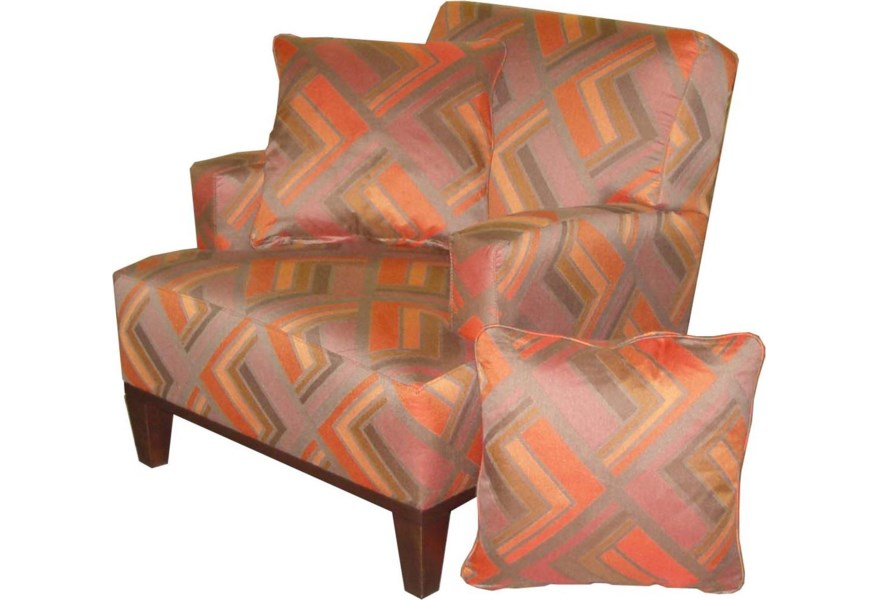 Jonathan Louis Choices Orion Unique Modern Accent Chair Fashion Furniture Upholstered Chairs
