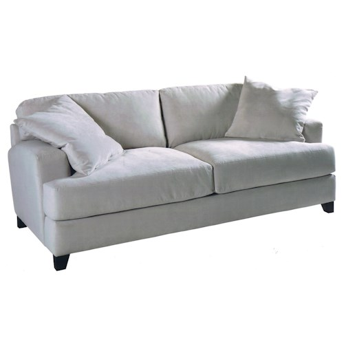 Jonathan Louis Clarence Casual Sofa with Super Plush Cushions