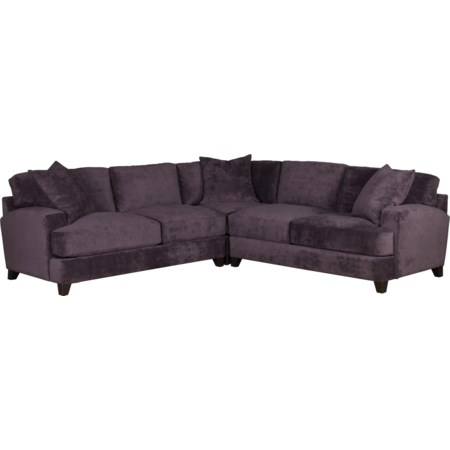 3 pc. Sectional