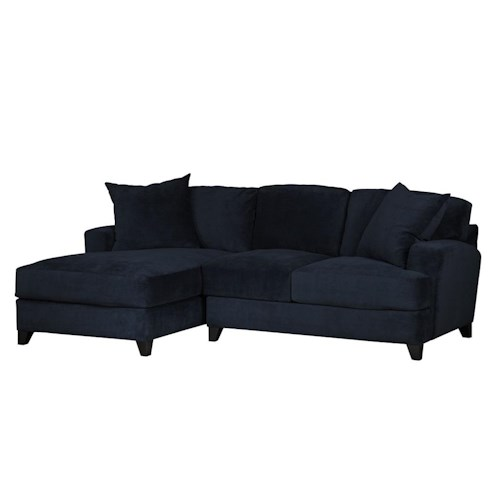 Jonathan Louis Gulliver Casual-Contemporary 2 pc. Chaise Sectional Sofa