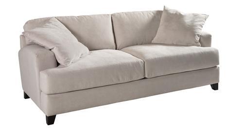 Jonathan Louis Clarence Casual Contemporary Stationary Sofa