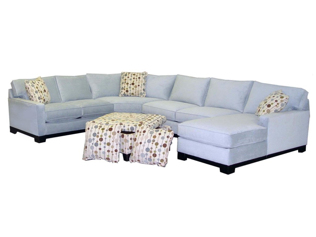 Jonathan Louis Gemini4 Pc Sectional