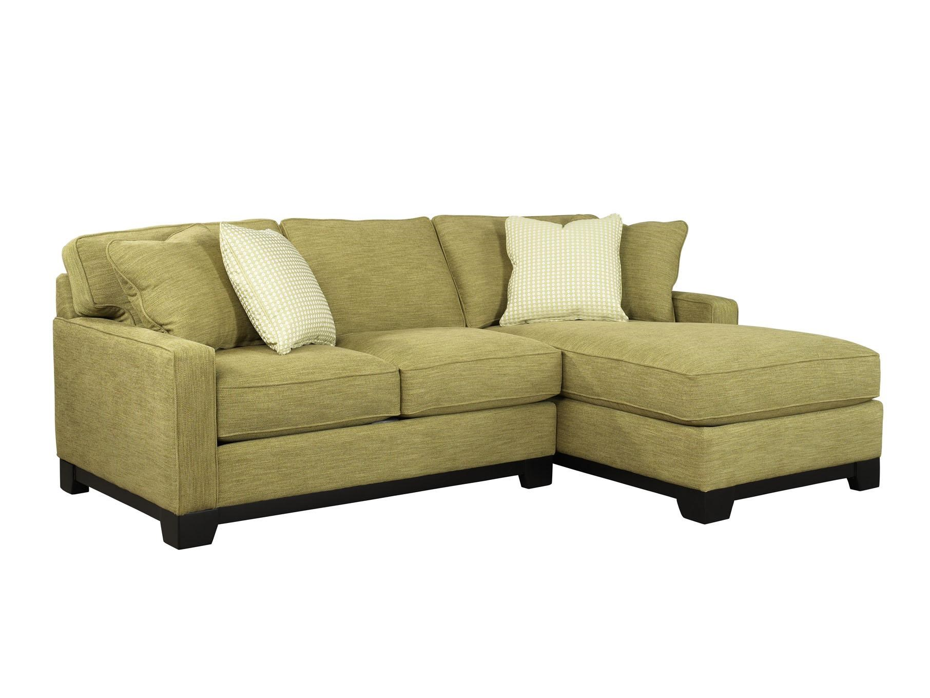 Gemini Contemporary Two Piece Sectional Sofa With RAF Chaise By Jonathan  Louis