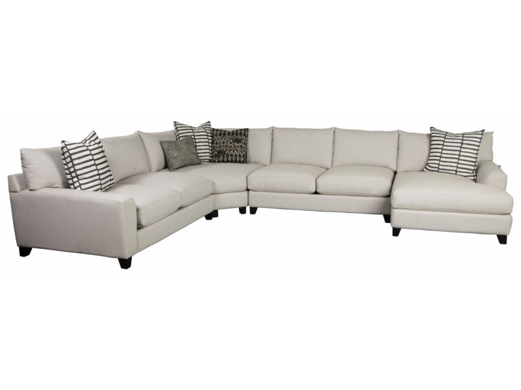 Harris Casual 4-Piece Sectional with RAF Chaise | Rotmans ...