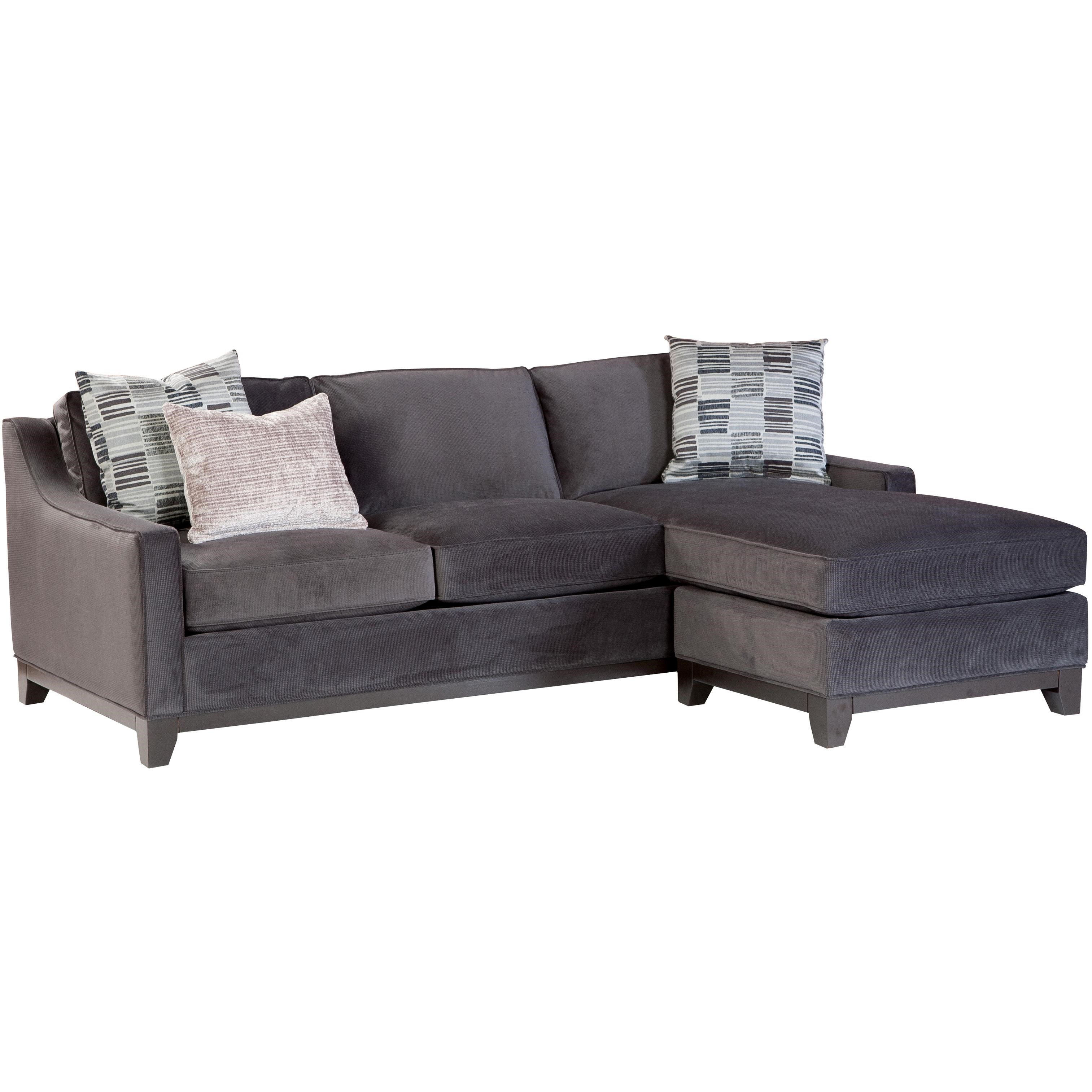 Jonathan Louis JanetContemporary Sofa With Chaise