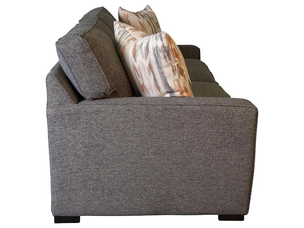 Jonathan Louis EddieEddie Condo Sofa with Accent Pillows