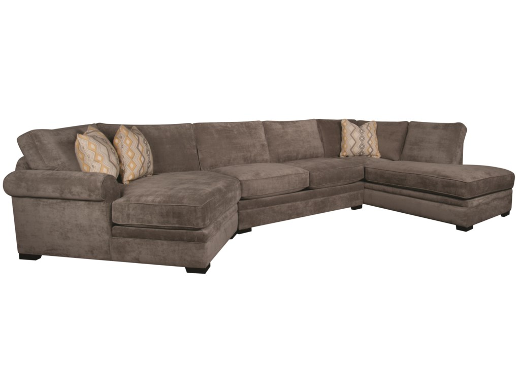 Santa Monica Linda 3-Piece Sectional | Morris Home | Sofa Sectional