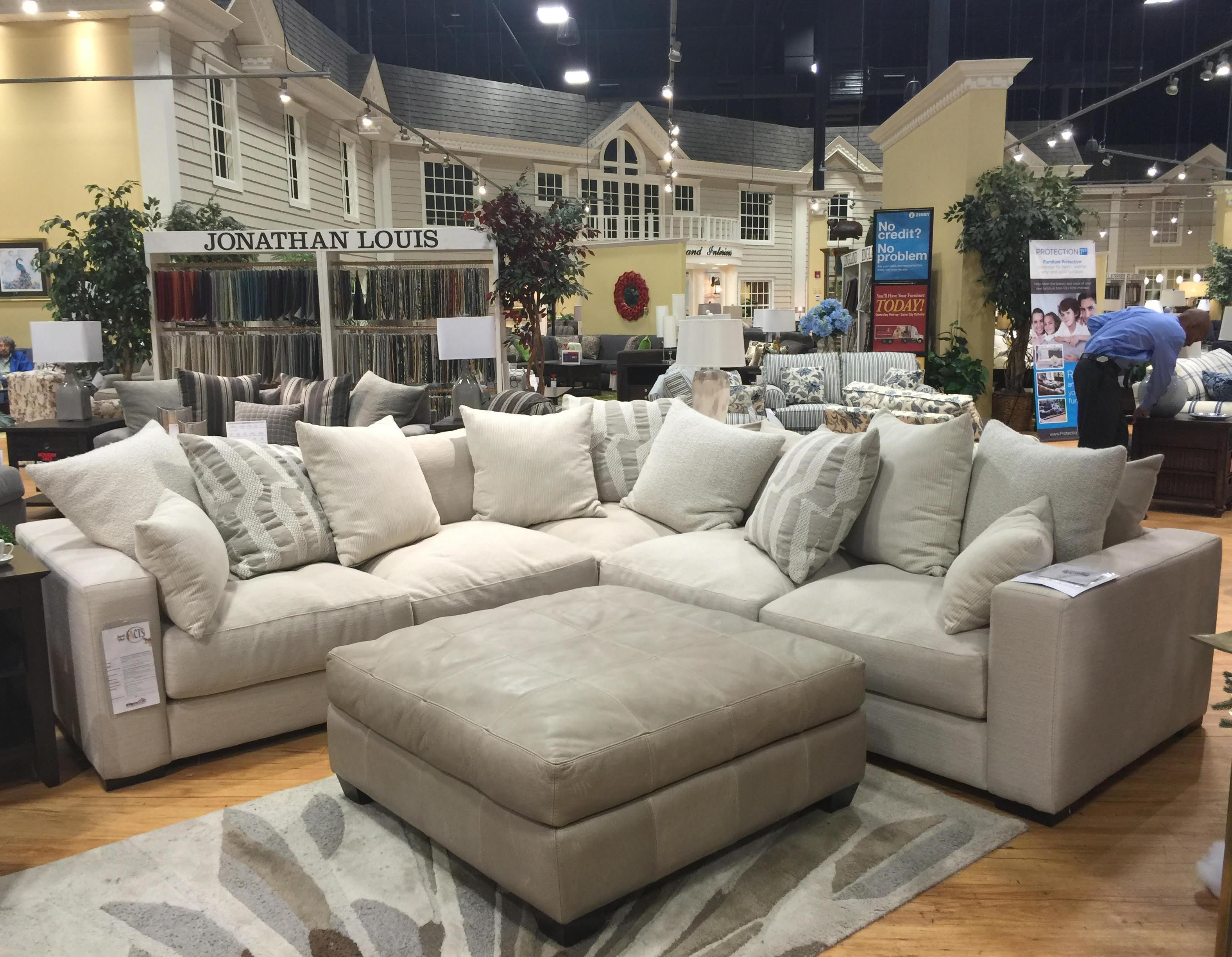 Jonathan Louis Ethan Contemporary Corner Sectional  sc 1 st  Pilgrim Furniture City : jonathan louis sectional choices - Sectionals, Sofas & Couches