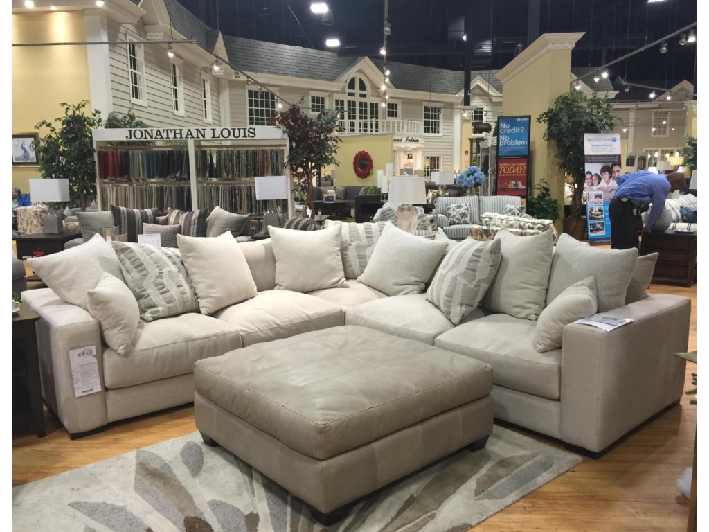 Jonathan Louis Ethancontemporary Corner Sectional