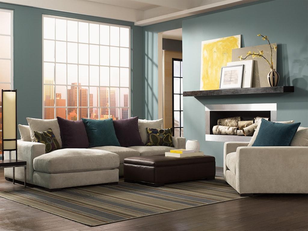 Jonathan Louis LombardySectional Sofa with Left Chaise