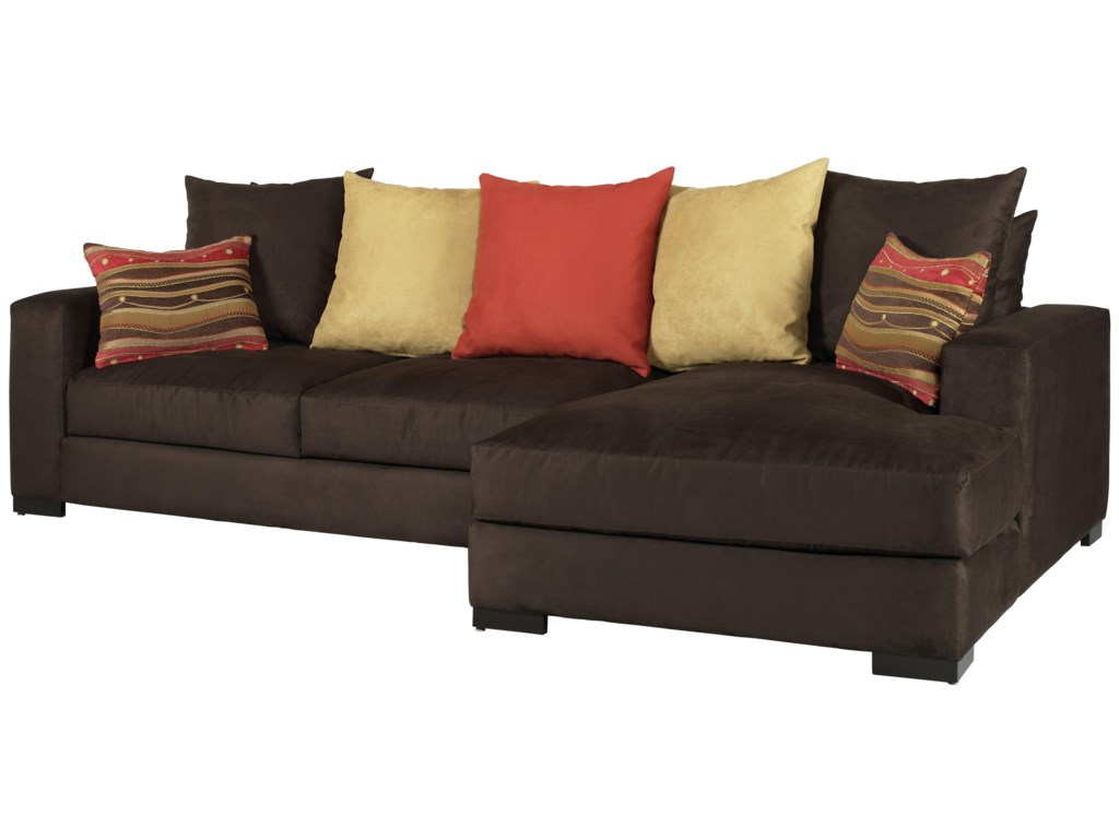 Jonathan Louis Lombardysectional Sofa With Right Chaise