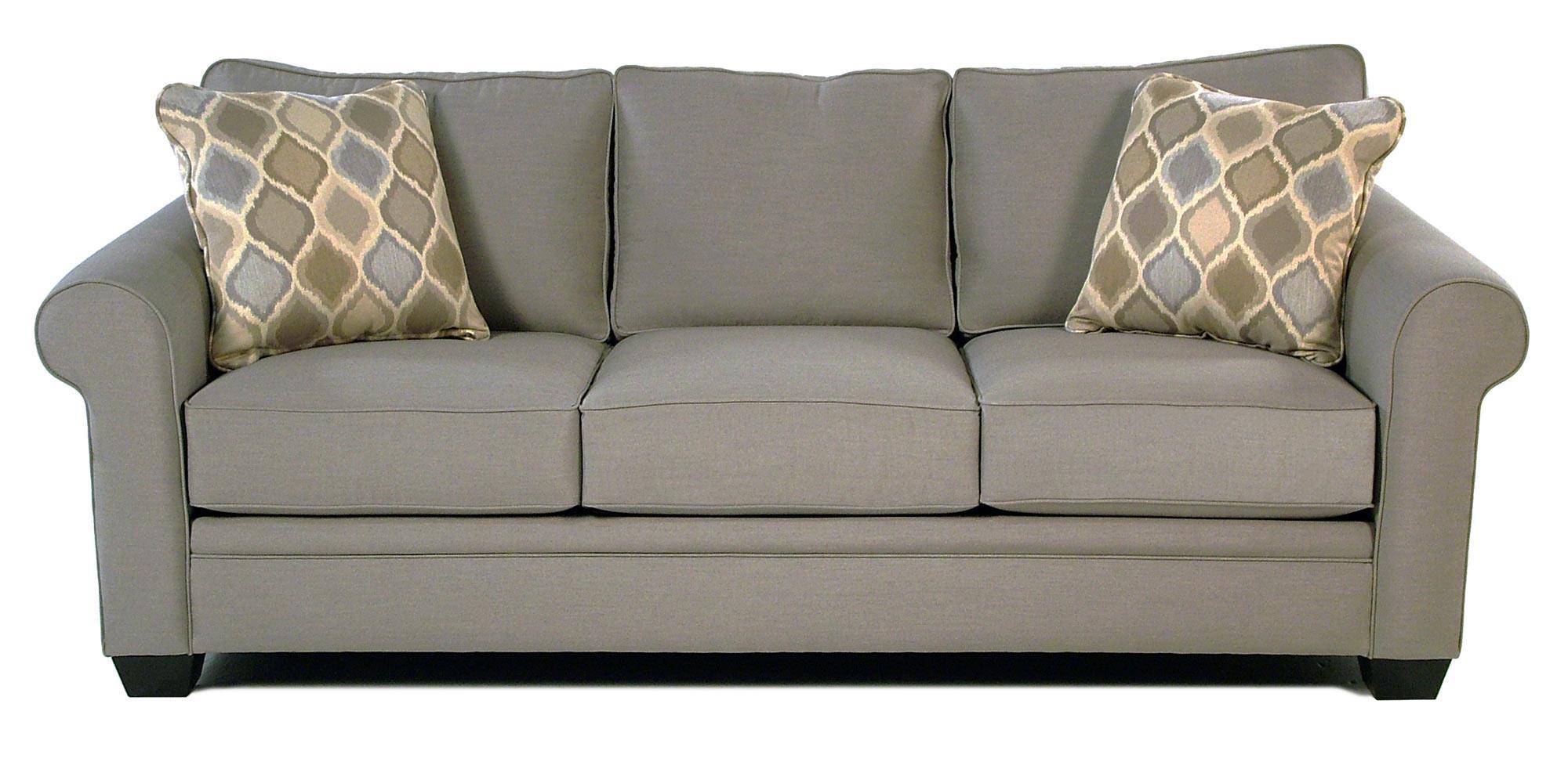 jonathan louis mackenzie roll arm sofa w sunbrella fabric - Sunbrella Fabric