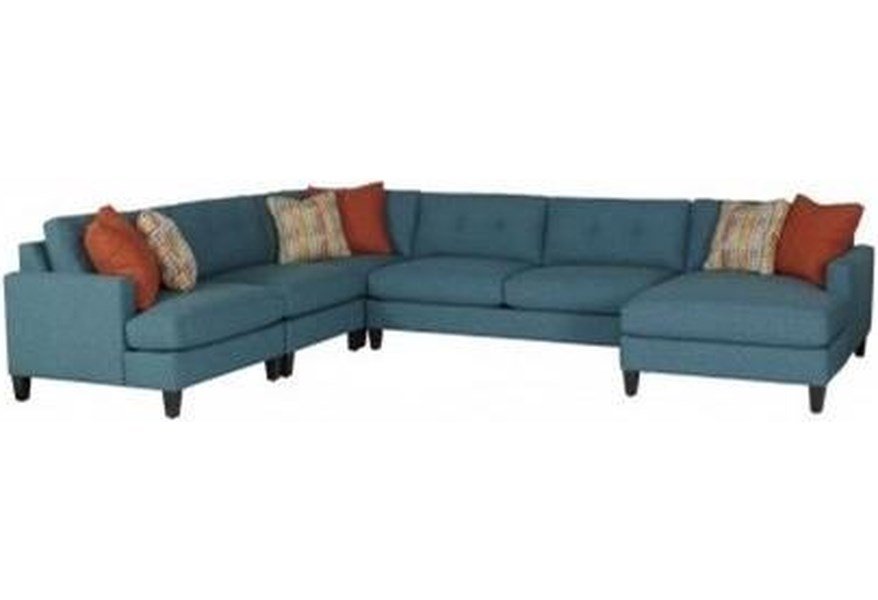 Mia Casual Sectional Sofa