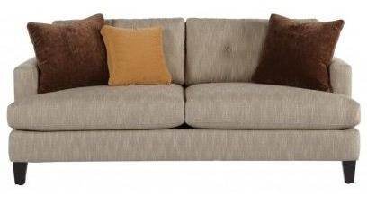 Jonathan Louis Mia Casual Sofa With Tapered Wood Legs