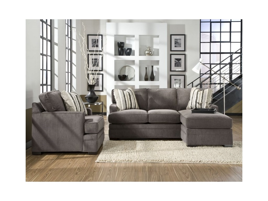Jonathan Louis Choices - NeptuneSofa with Chaise