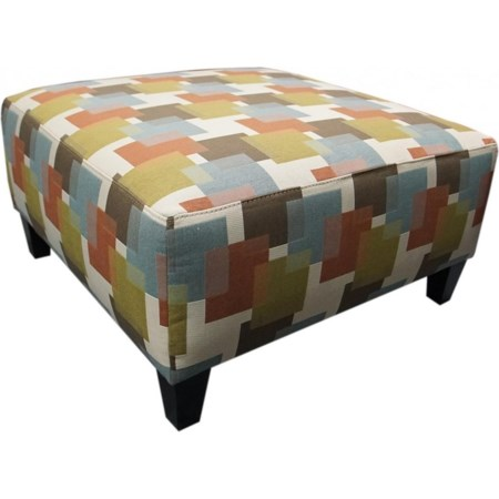 Medium Square Ottoman