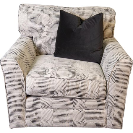 Paisley Swivel Chair