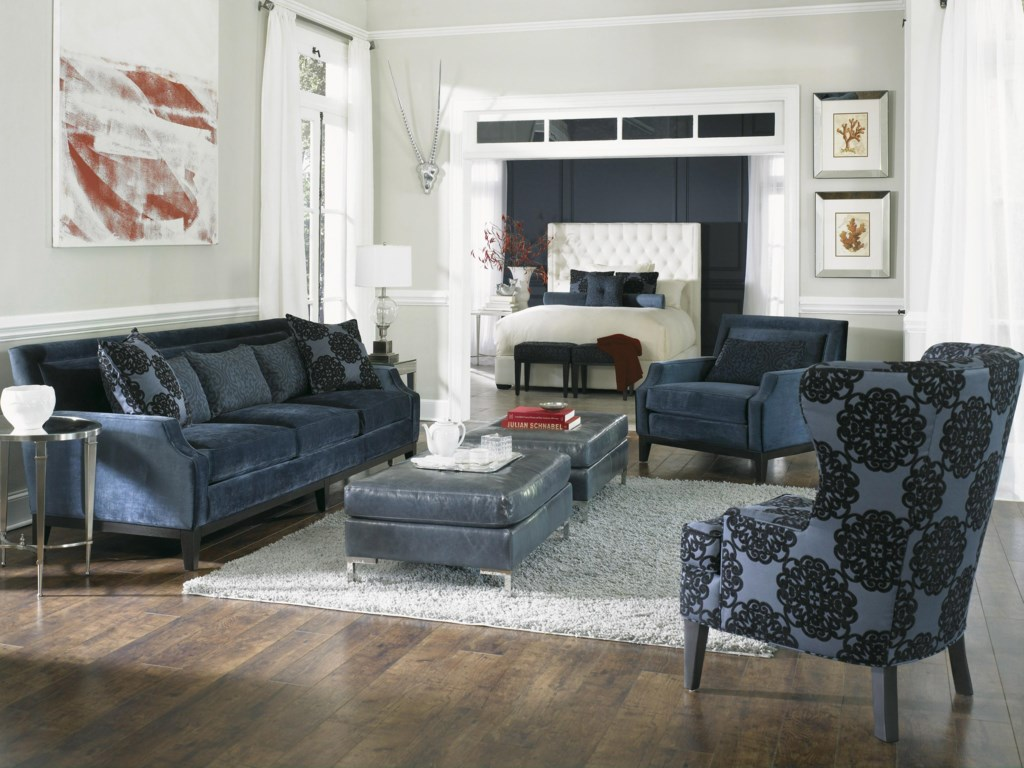 Shown with Estate Sofa, Rossdale Wing Chair, and Ottoman