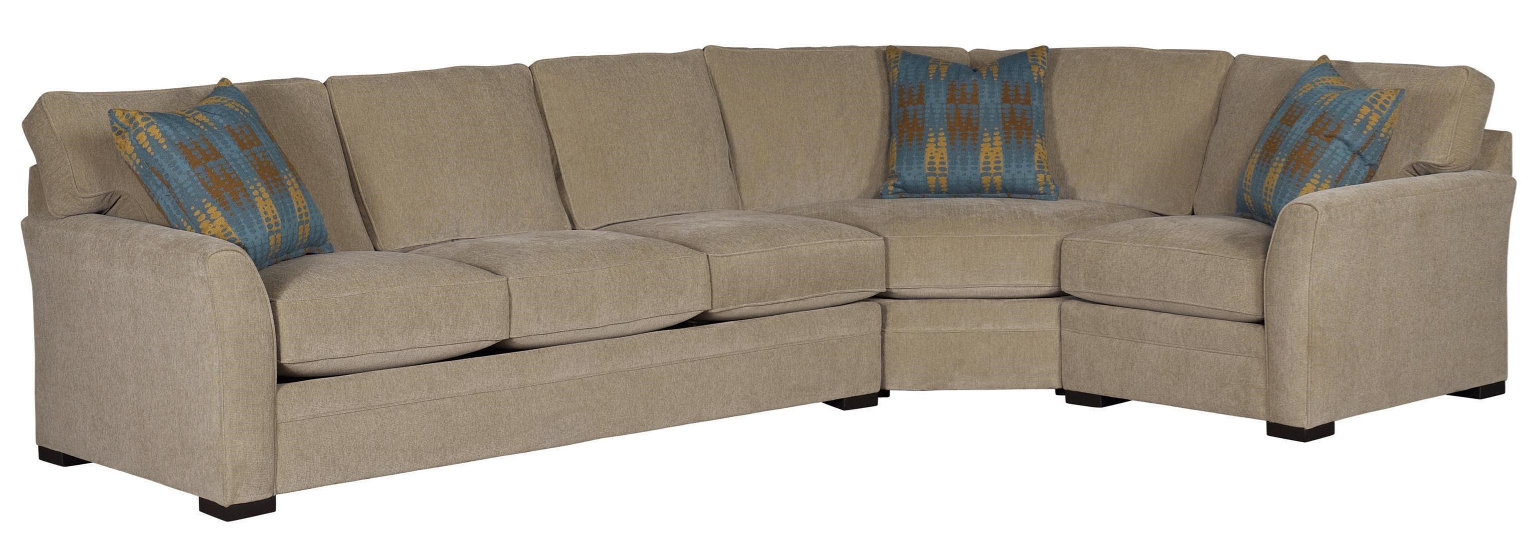 Charmant Jonathan Louis Scorpio Casual Sectional Sofa With Flared Arms