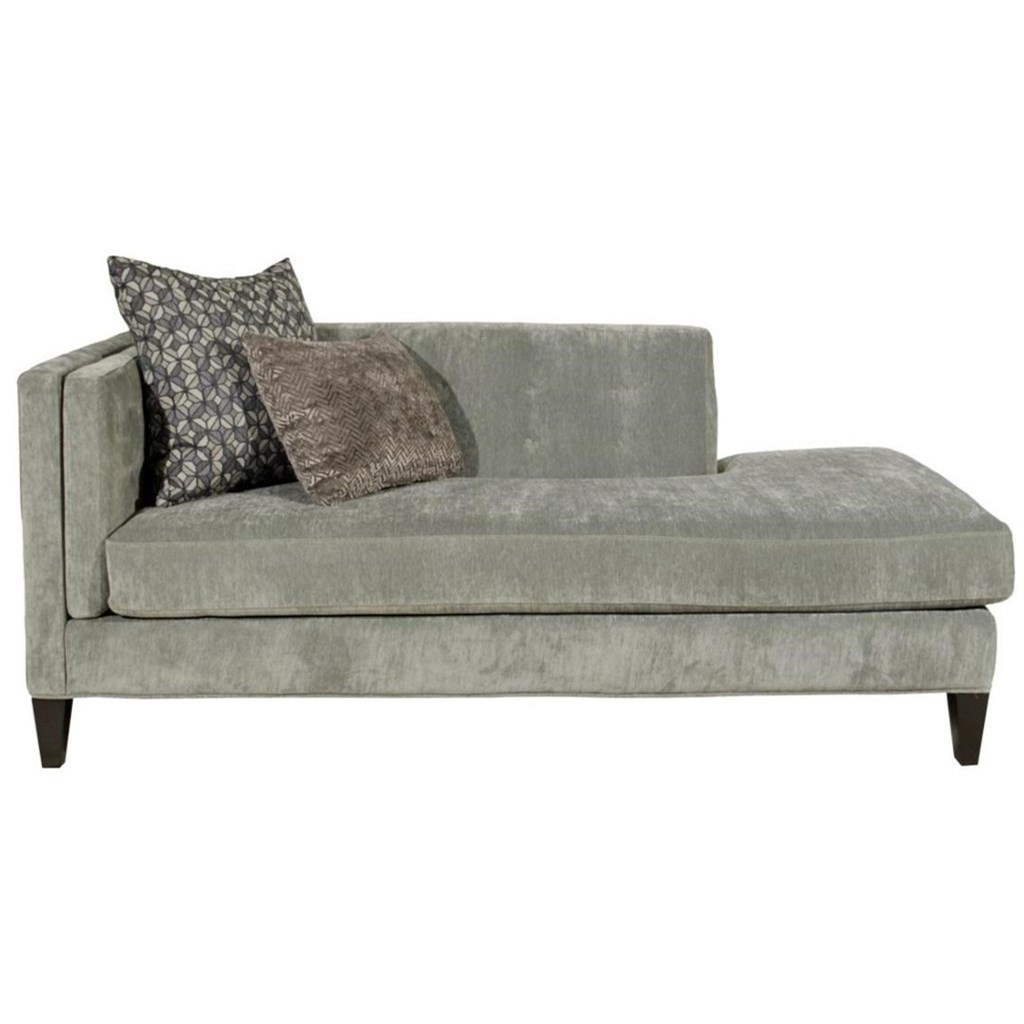 Jonathan Louis Strathmore Traditional One Arm Sofa With Tufting